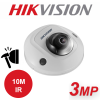 3MP HIKVISION MINI DOME IP PoE CAMERA DS-2CD2535FWD-I 4mm