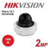 2MP 1080P HIKVISION WDRN 10M IR INDOOR PAN & TILT IP DOME CAMERA DS-2CD2F22FWD-I-4MM