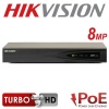 4CH HIKVISION 8MP NVR IP POE HDMI DS-7604NI-K1/4P