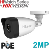 2mp HIKVISION HIWATCH BULLET IP POE IPC-B120 FIXED LENS 2.8MM