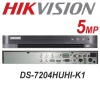 4CH HIKVISION 5MP SYSTEM AOC DVR 2X 3X 4X  AUDIO 30M IR CAMERA KIT
