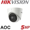 5MP HIKVISION DOME 2.8MM 40M IR AOC AUDIO OVER COAX DS-2CE78H0T-IT3FS