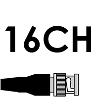 16CH KITS WITH BNC CABLES