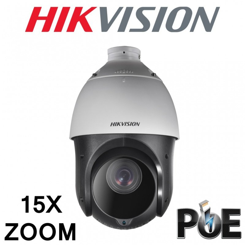 HIKVISION 15X ZOOM IP POE PTZ 2MP 1080P DS-2DE4215IW-DE