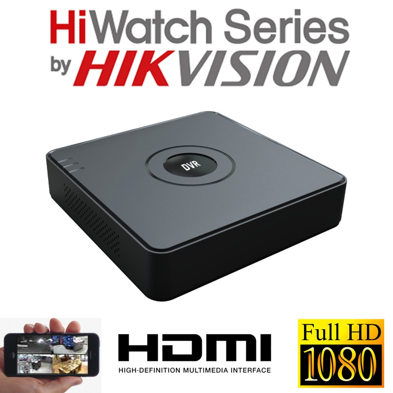 16CH HIKVISION HIWATCH DVR HDMI HD DVR-116G-F1