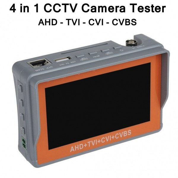 5MP CCTV Camera Tester LCD Screen