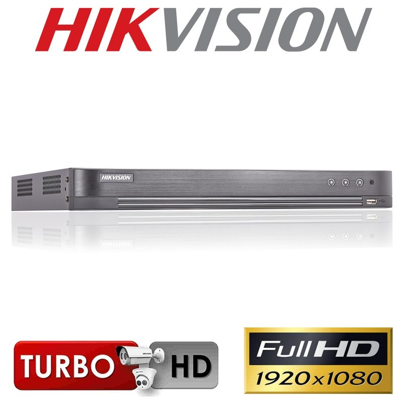 8CH HIKVISION 4MP DVR HDMI 4K TURBO 1080P DS-7208HQHI-K1