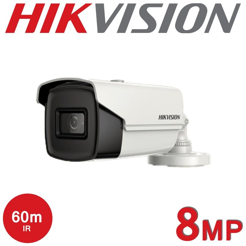 8MP 4K HIKVISION FIXED BULLET CAMERA DS-2CE16U1T-IT3F