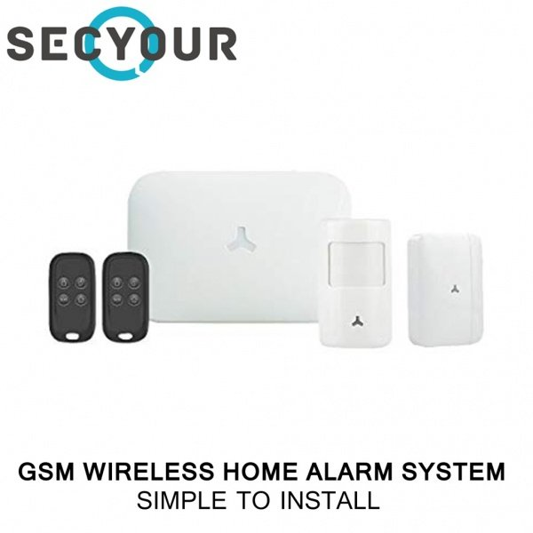GSM SECYOUR Wireless Intruder Alarm Kit. Control From Your Smart Phone!
