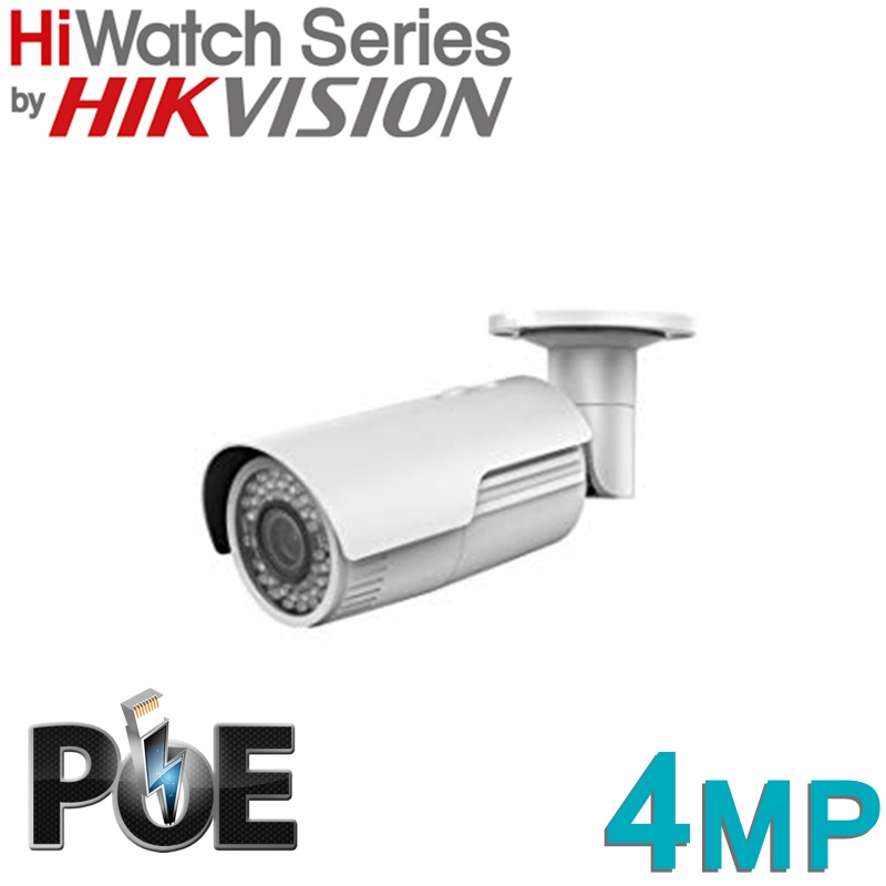 HIKVISION HIWATCH BULLET 4MP IP POE IPC-B640-Z