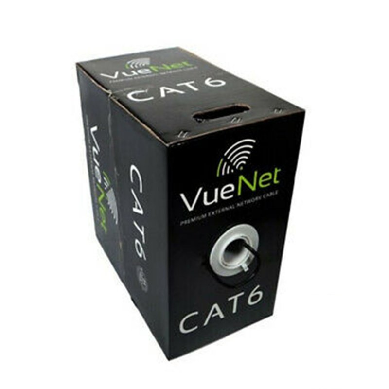 VUENET PREMIUM CAT6 CABLE OUTDOOR SOLID COPPER CABLE