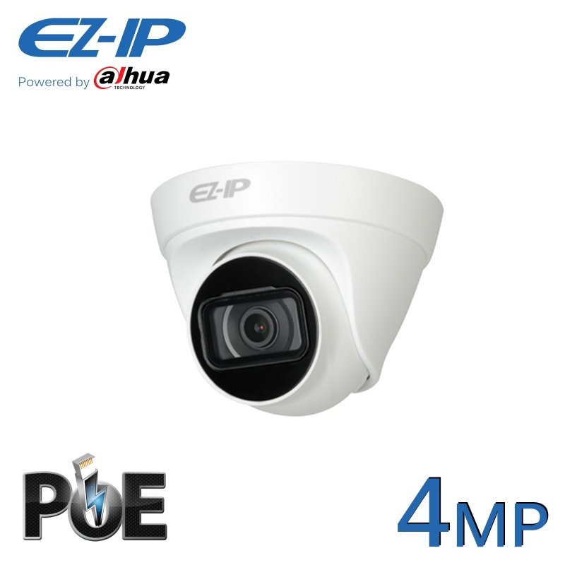 4MP EZ-IP POE IP DOME CCTV CAMERA POWERED BY DAHUA