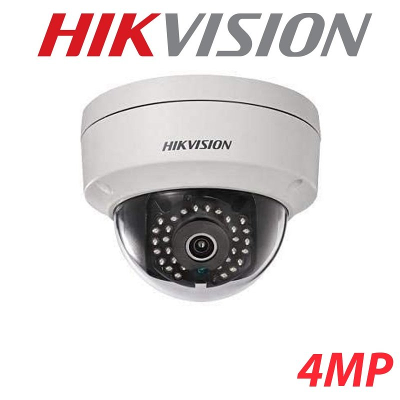 4MP HIKVISION WDR IP POE FIXED 2.8MM 30M IR DOME CAMERA DS-2CD2142FWD-I (LAST ONE)