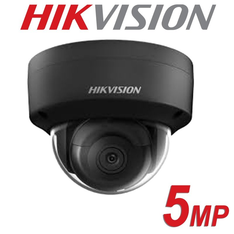 HIKVISION 5MP IP POE VANDAL DOME DS-2CD2155FWD-I FIXED LENS 2.8MM BLACK