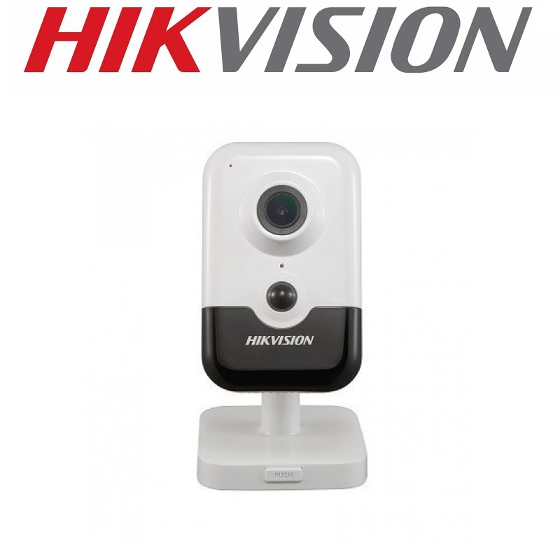 HIKVISION 4MP IP POE WIFI INDOOR CUBE 2.8MM DS-2CD2443G0-IW