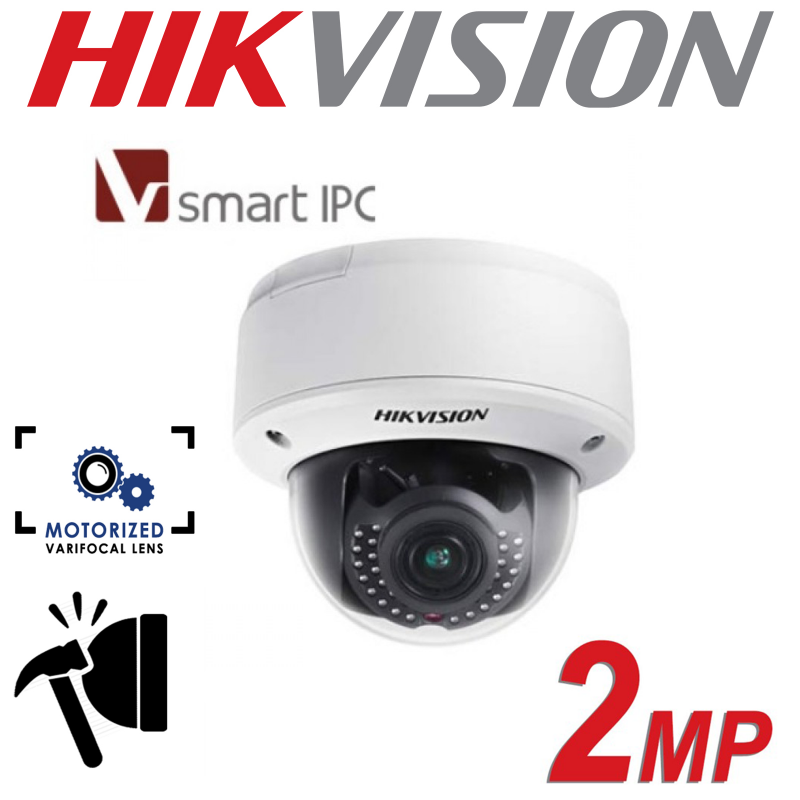 2MP HIKVISION LOW LIGHT SMART CAMERA DS-2CD4126FWD-IZ-B-2.8-12mm