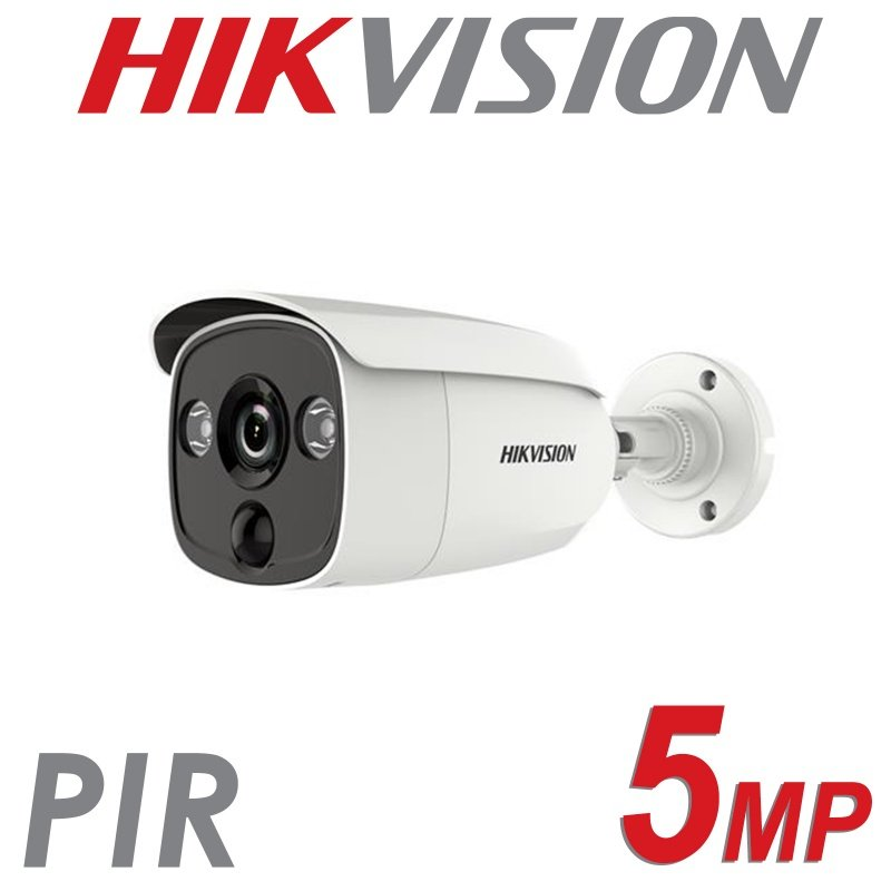 5MP HIKVISION PIR BULLET 2.8MM DS-2CE12H0T-PIRL