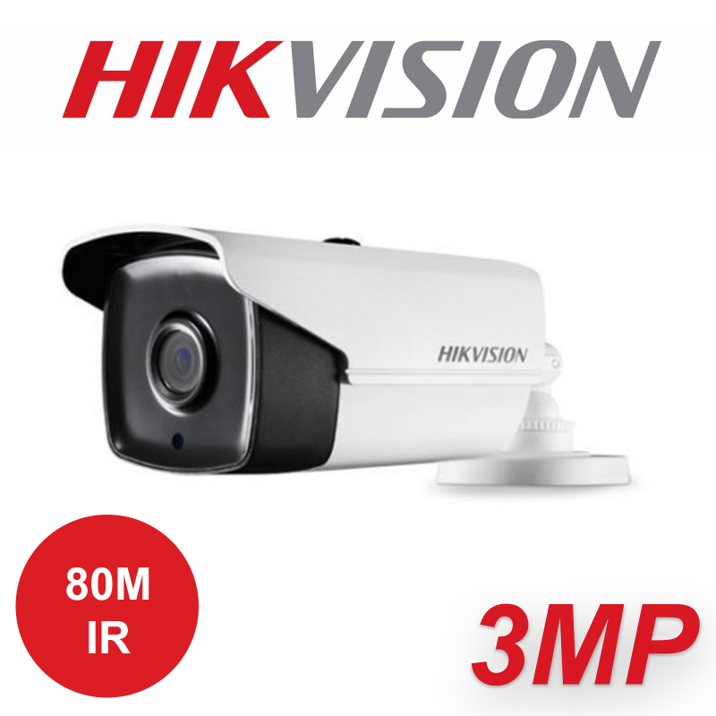 3MP HIKVISION WDR EXIR 3.6MM CAMERA DS-2CE16F7T-IT5 3.6MM