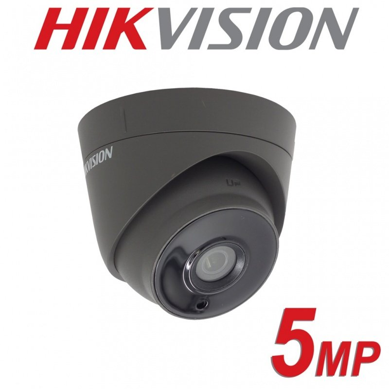 5MP HIKVISION DOME 2.8MM IP67 40M EXIR 4 IN 1 GREY