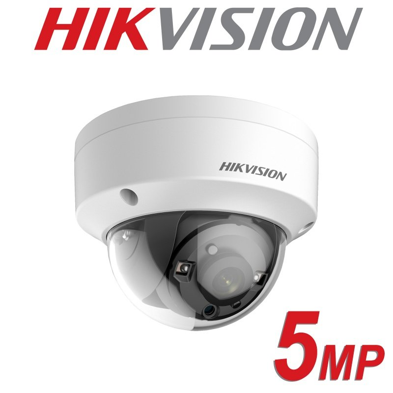 5MP HIKVISION DOME 2.8MM IP67 20M EXIR 4 IN 1 VANDL PROOF DS-2CE56H0T-VPITF