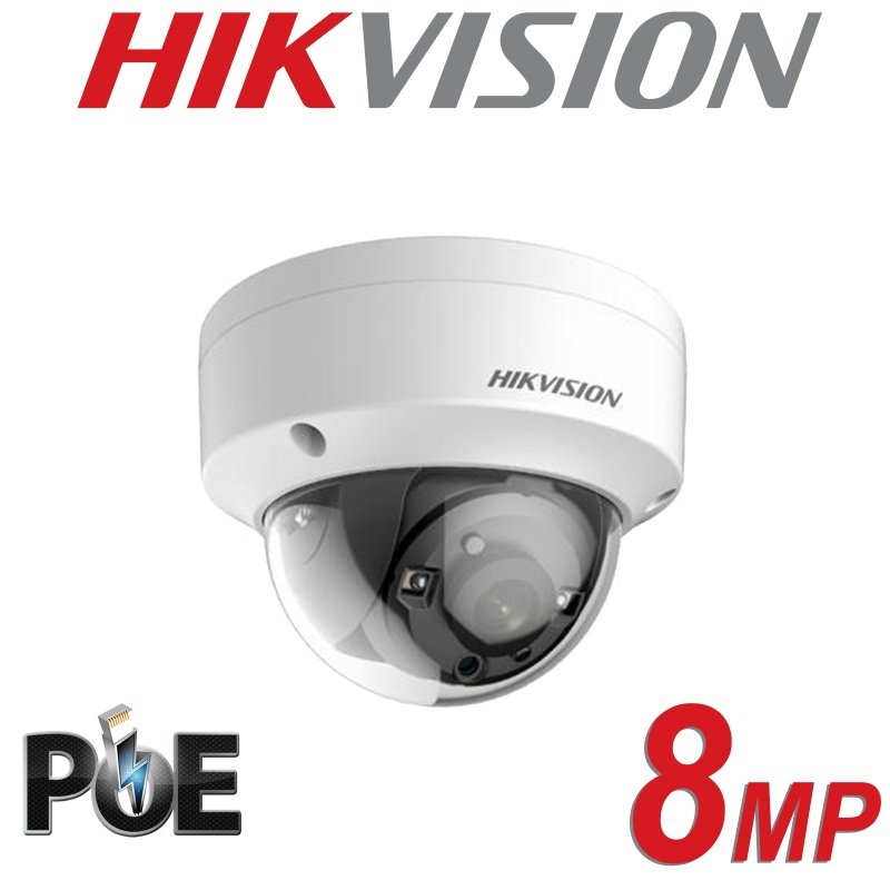 HIKVISION 8MP IP POE DOME DS-2CD2183G0-I FIXED LENS 4MM