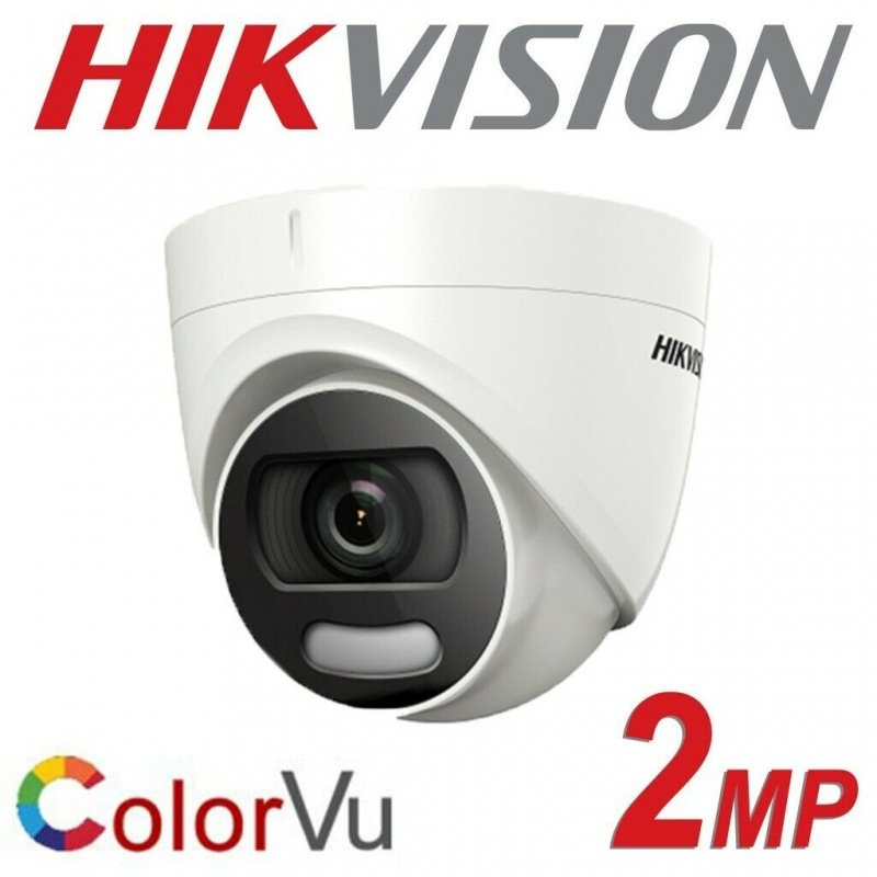2MP HIKVISION COLOURVU DOME 3.6MM 20M 4 IN 1 - *** LIMITED QUANTITY *** DS-2CE72DFT-F