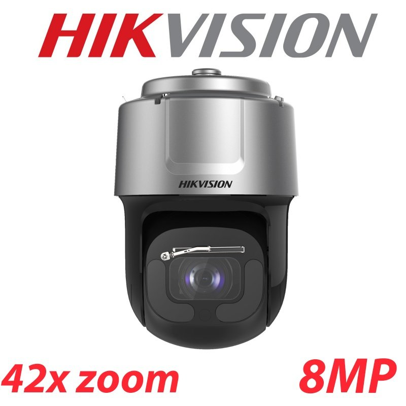 8MP HIKVISION IP PTZ 42X ZOOM HIKVISION AUTO TRACKING DS-2DF8C842IXS-AELW