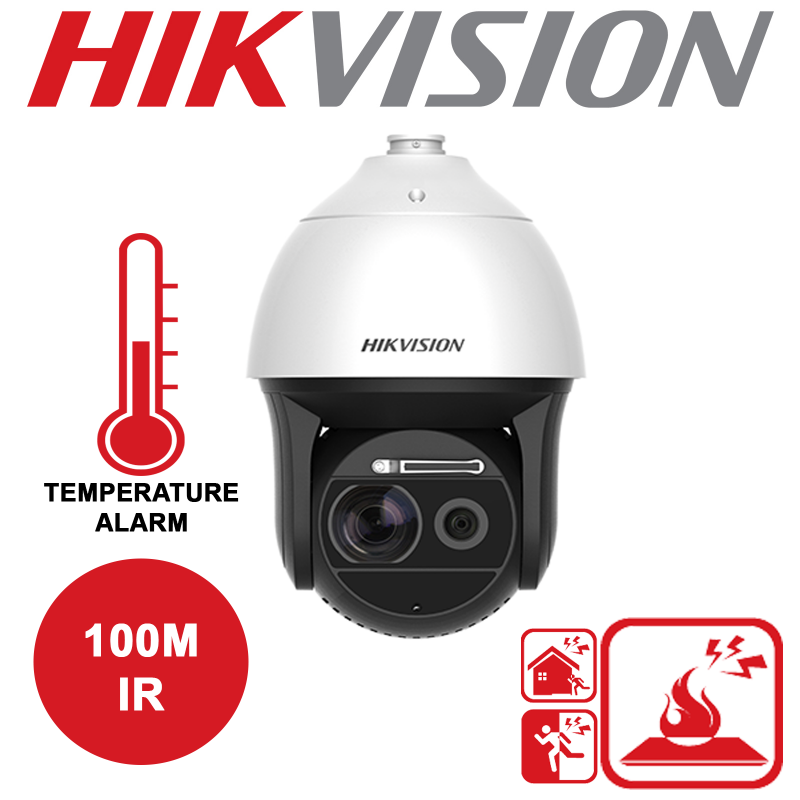 HIKVISION THERMAL AND OPTICAL BI-SPECTRUM NETWORK SPEED DOME DS-2TD4136-25-V2