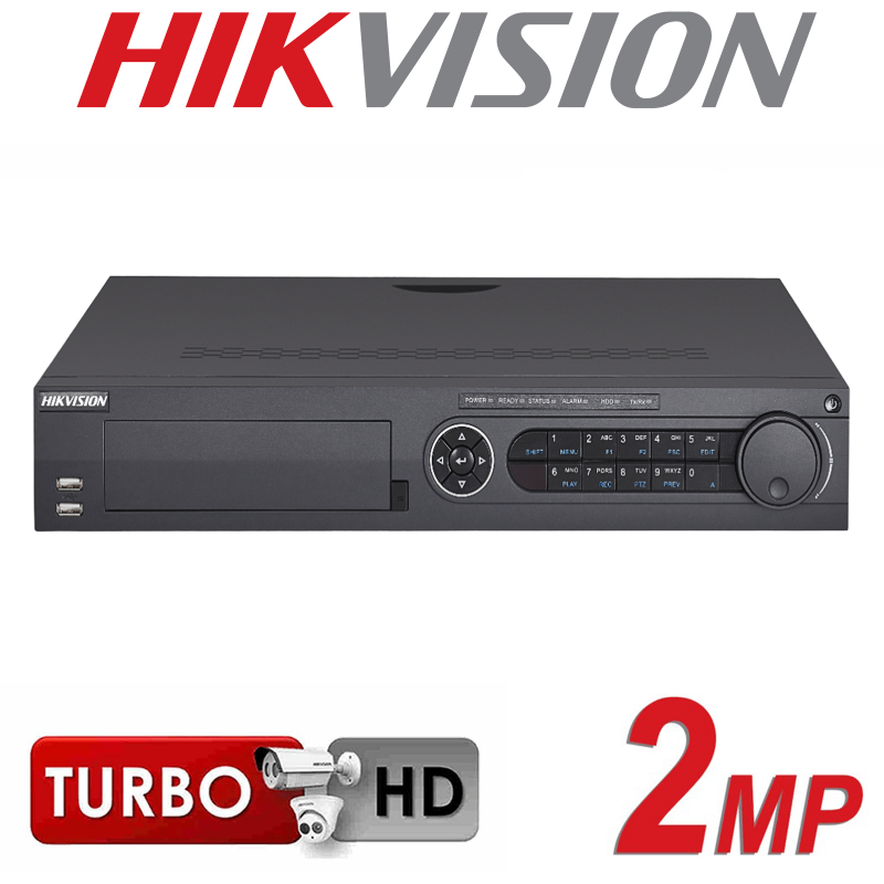 4CH HIKVISION TURBO HD DVR HDMI 2MP 1080P 4 SATA INTERFACE DS-7304HQHI-K4