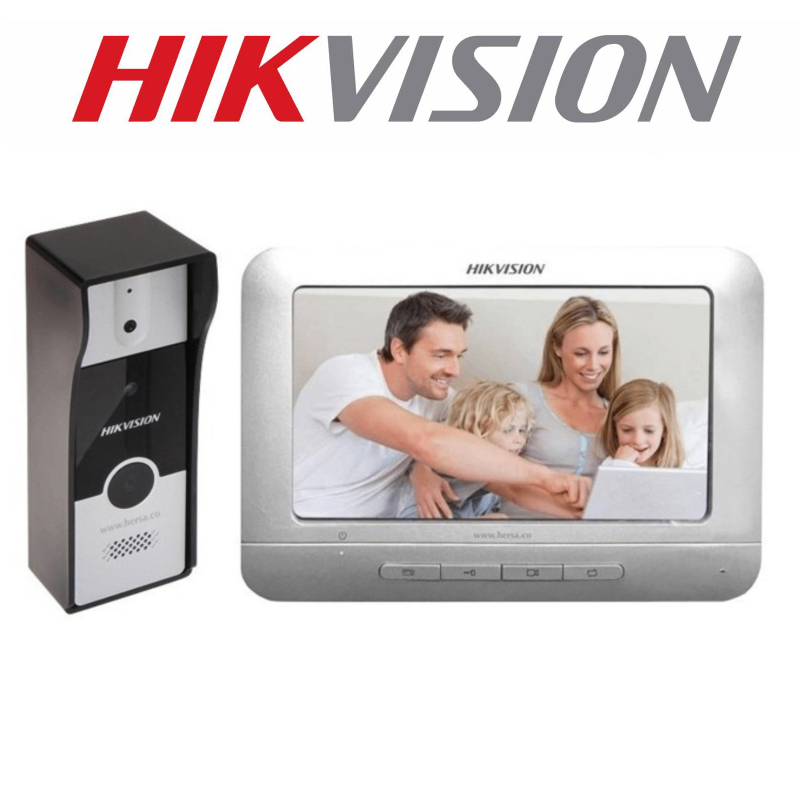 HIKVISION VILLA HOUSE ANALOG KIT WITH PICTURE STORAGE DS-KIS204