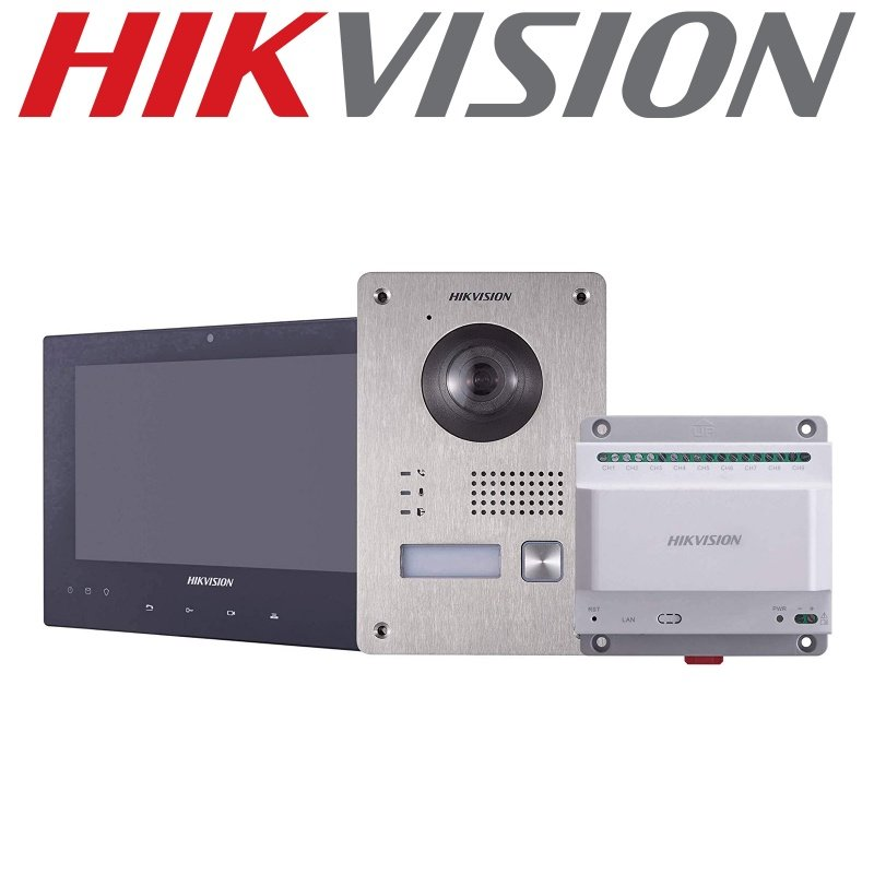 HIKVISION 2 WIRE HD VIDEO INTERCOM KIT DS-KIS701