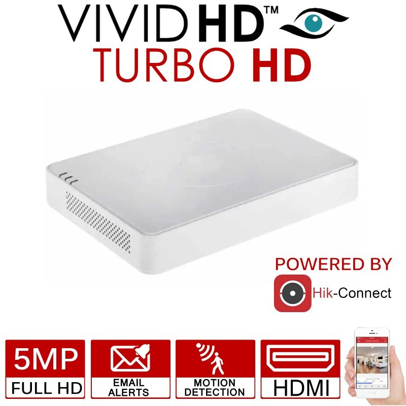 VIVID HD 16CH 5MP TURBO HD DVR