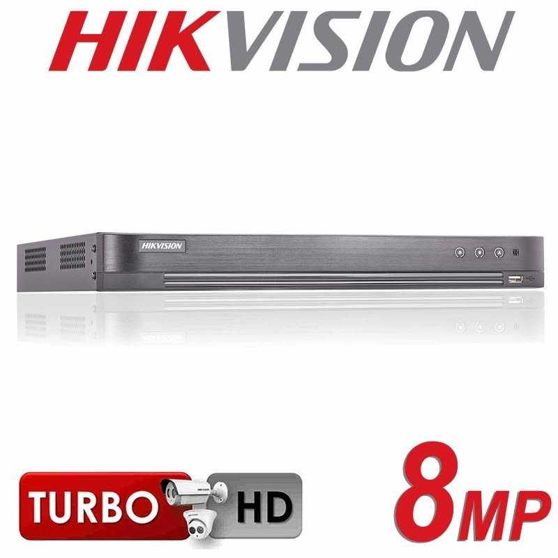 8CH HIKVISION 8MP DVR HDMI 4K TURBO 1080P DS-7208HTHI-K2