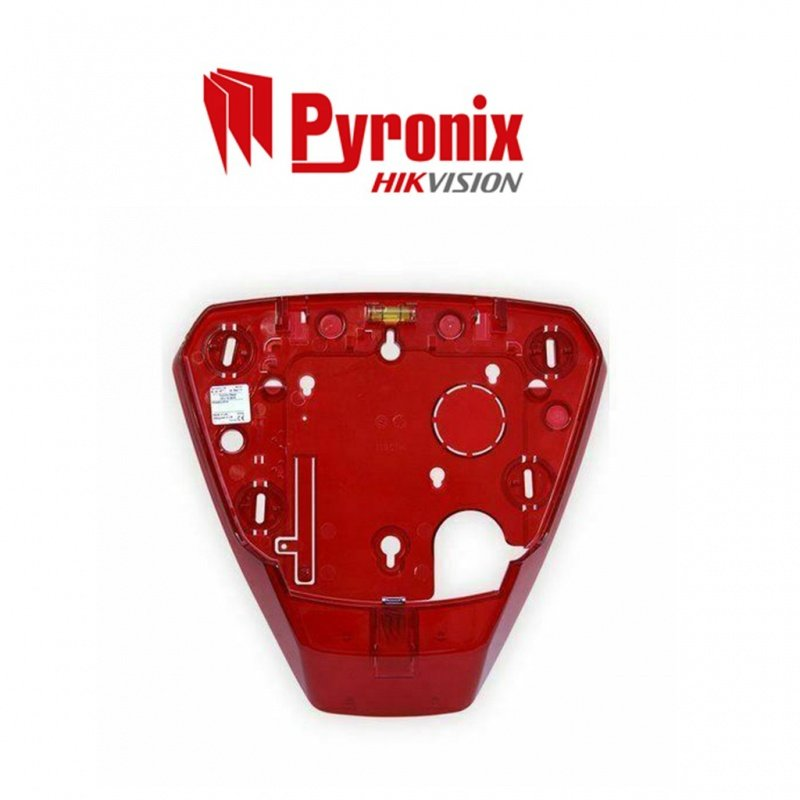 PYRONIX HIKVISION SOUNDER DUMMY DELTABELL RED BACKPLATE FDDELTA-RED
