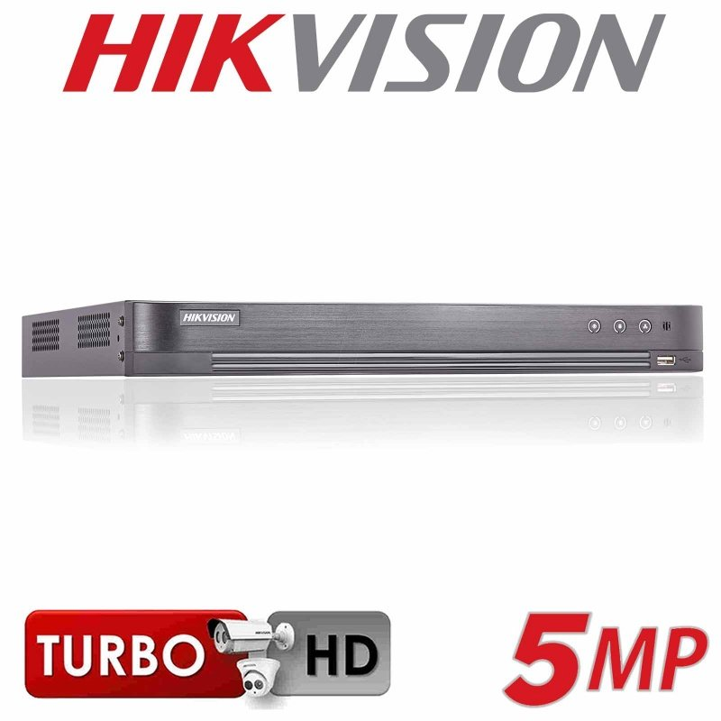 4CH HIKVISION 5MP DVR TURBO AOC AUDIO OVER COAX DS-7204HUHI-K1