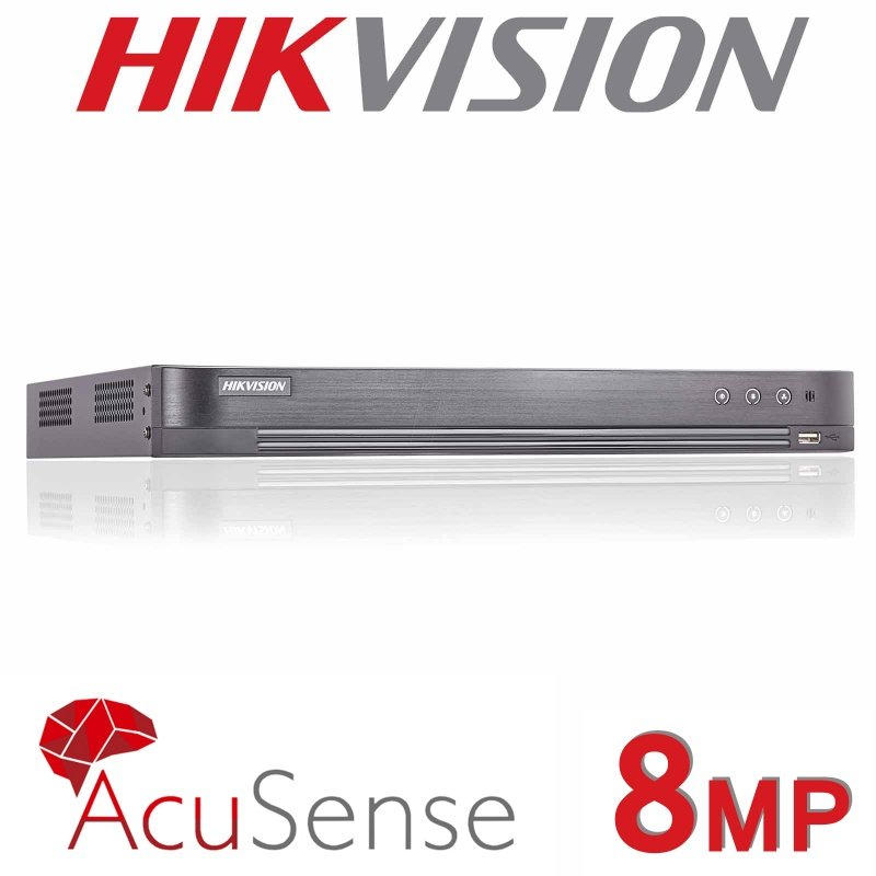 8CH HIKVISION 8MP DVR HDMI TURBO ACUSENSE