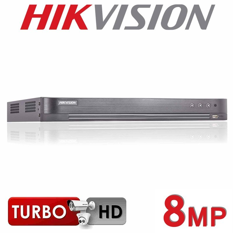 4CH HIKVISION 8MP DVR HDMI 4K TURBO 1080P DS-7204HTHI-K1