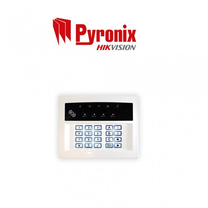 KEYPAD WIRELESS TWO-WAY WIRELESS ARMING STATION LEDRKP/WHITE-WE