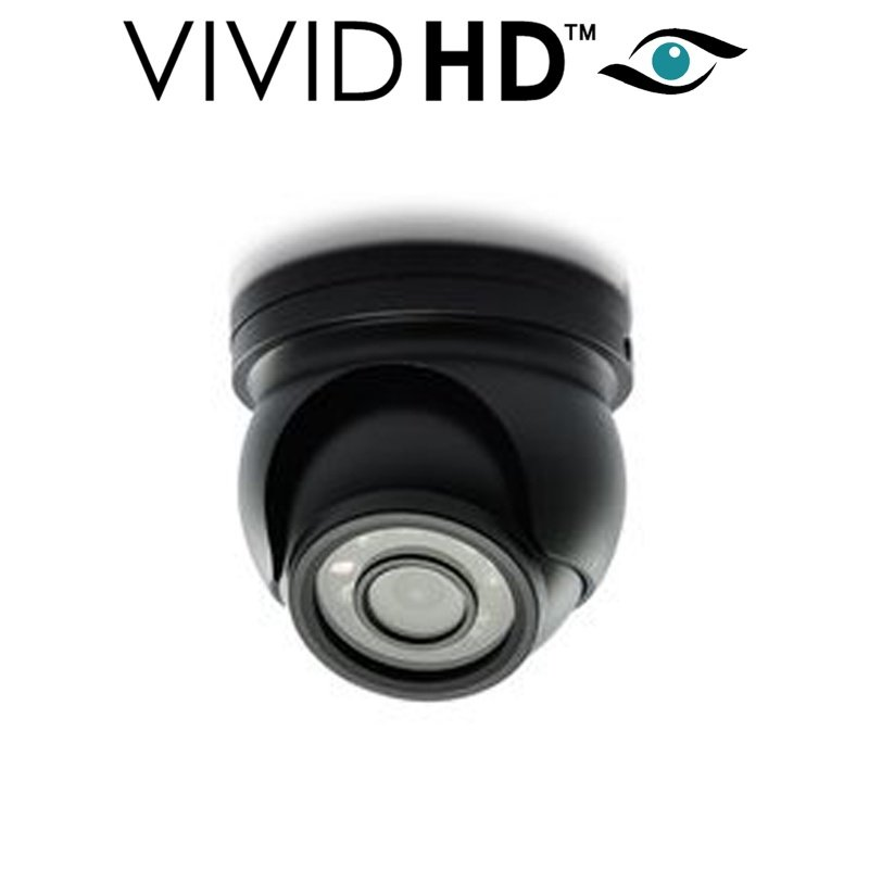 2.4MP VIVID HD MINI DOME CCTV CAMERA FULL HD SPY COVERT BLACK