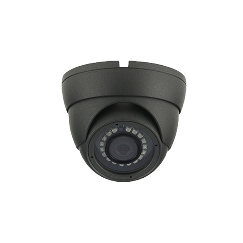 2.4MP DOME CCTV CAMERA 4 IN 1 TVI AHD CVI CVBS 1080P FULL HD GREY