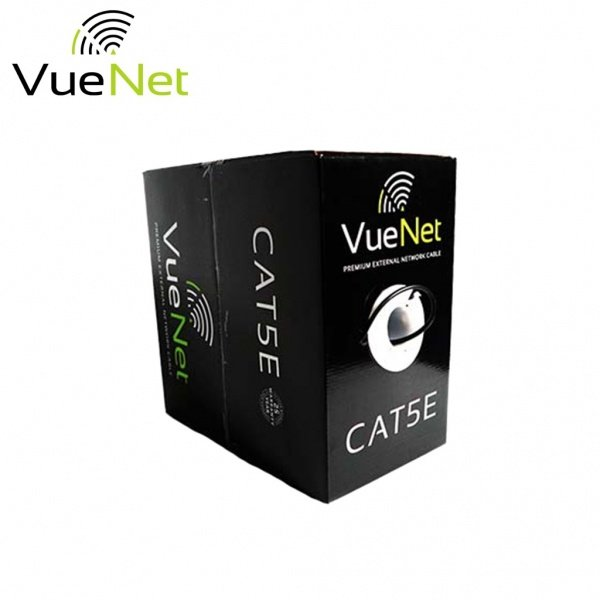 VUENET PREMIUM CAT5E CABLE OUTDOOR SOLID COPPER CABLE