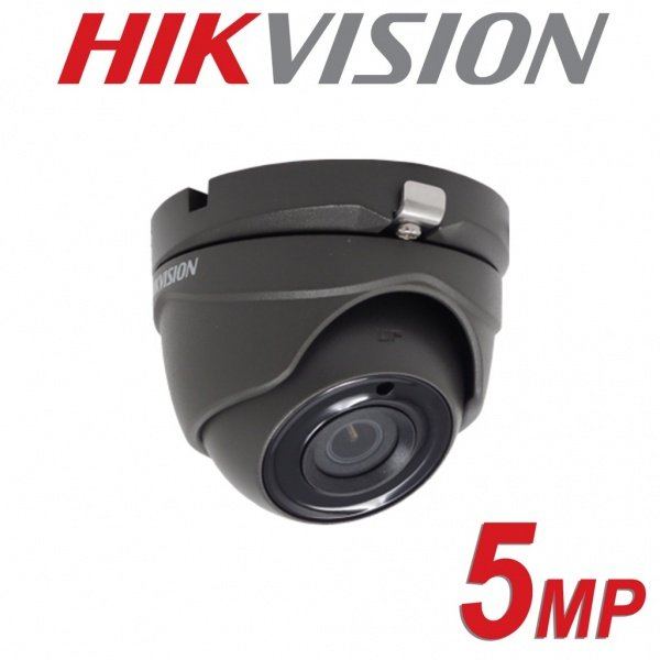 5MP HIKVISION FULL HD 1080P 2.8MM IR 20M IP67 DS-2CE56H0T-ITMF-GREY