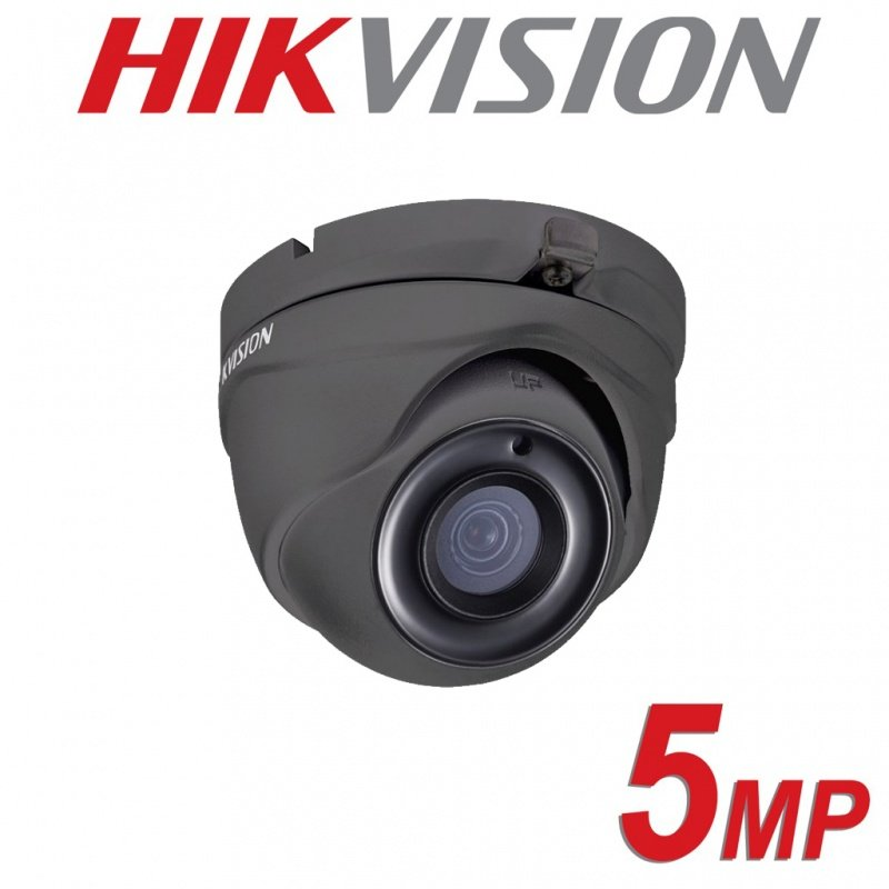 5MP 4MP HIKVISION DOME TURRET FULL HD 2.8MM 20M IR IP67 4 IN 1 DS-2CE56H0T-ITMF BLACK