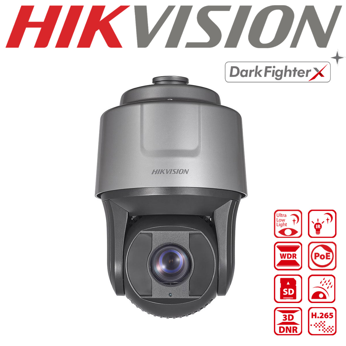 HIKVISION 25X DARKFIGHTERX 2MP IR NETWORK SPEED DOME DS-2DF8225IH-AEL(W)