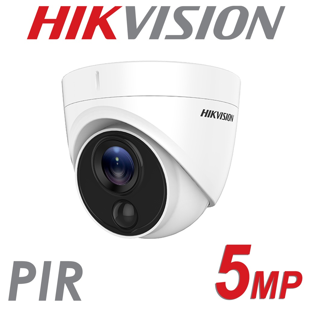 5MP HIKVISION PIR DOME TURRET 2.8MM DS-2CE71H0T-PIRLO