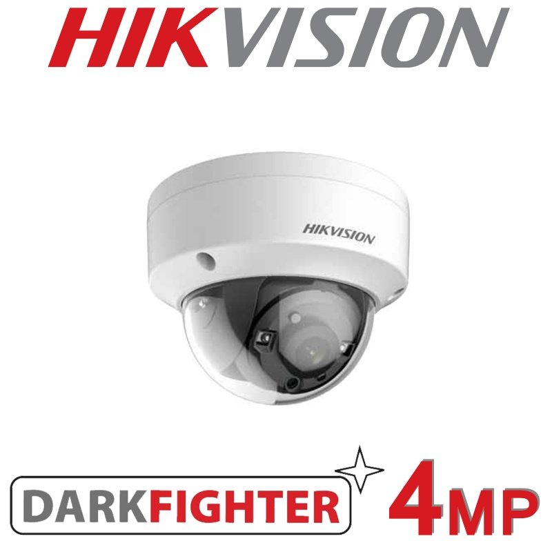 HIKVISION 4MP IP POE VANDAL DOME DARKFIGHTER DS-2CD2145FWD-IS 2.8MM