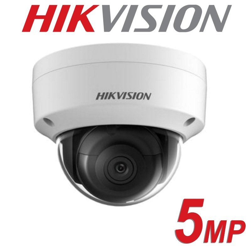 HIKVISION 5MP IP POE VANDAL DOME DS-2CD2155FWD-I FIXED LENS 2.8MM