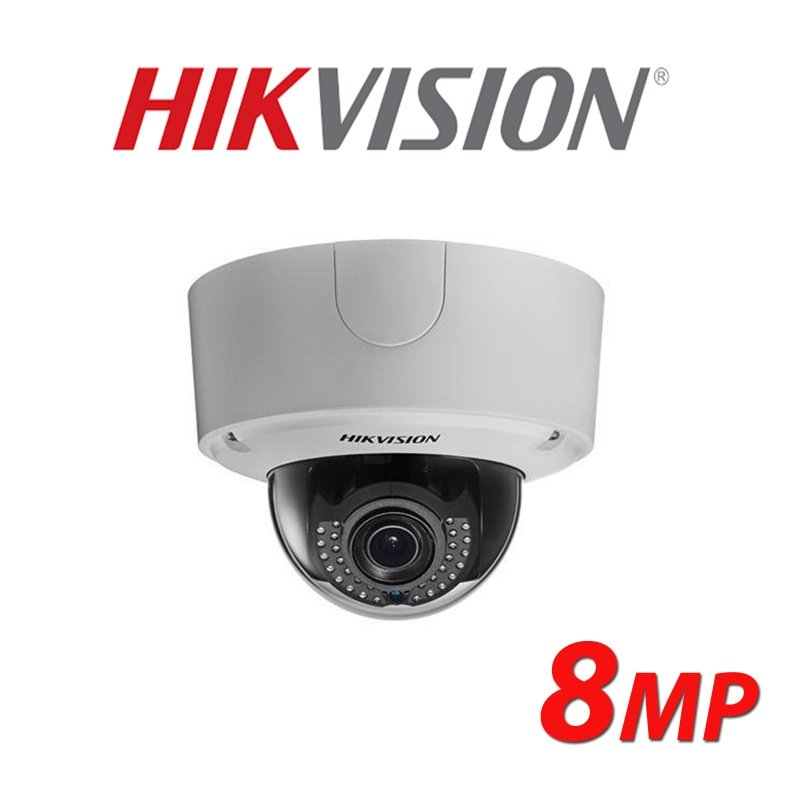 HIKVISION 8MP DS-2CD4585F-IZH 4K Smart IP Outdoor Dome Camera 2.8-12MM GRADED ITEM