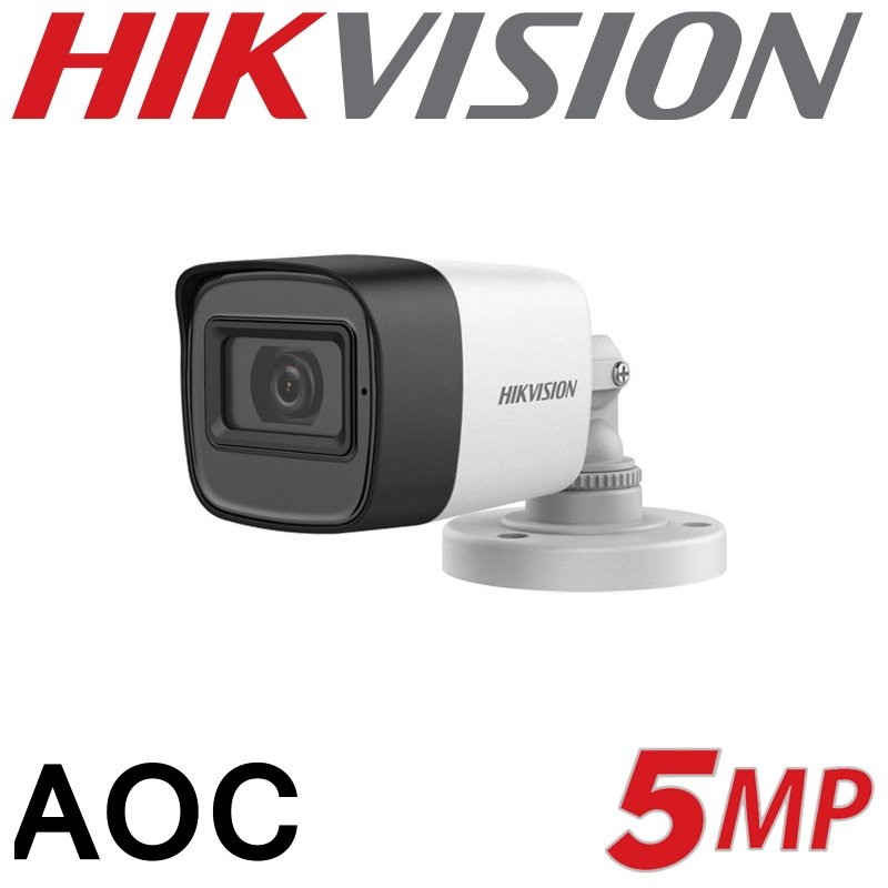 5MP HIKVISION AOC BULLET CAMERA DS-2CE16H0T-ITFS 2.8mm