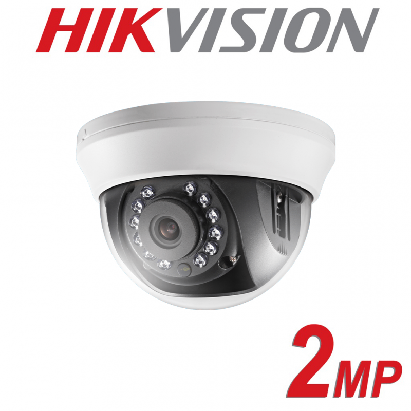 2MP HIKVISION 4 IN 1 INDOOR TURBO CAMERA 2.8MM DS-2CE56D0T-IRMMF